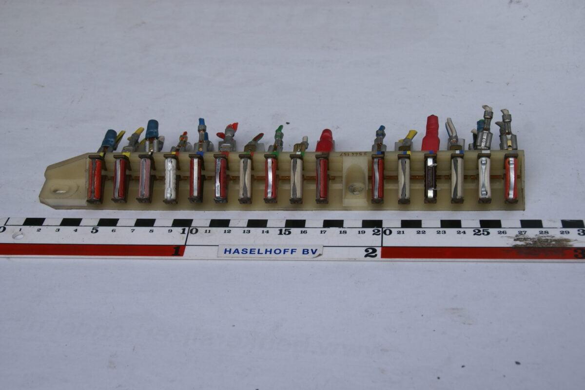 zekeringkast wit met 16 zekeringen 160307-3602-0