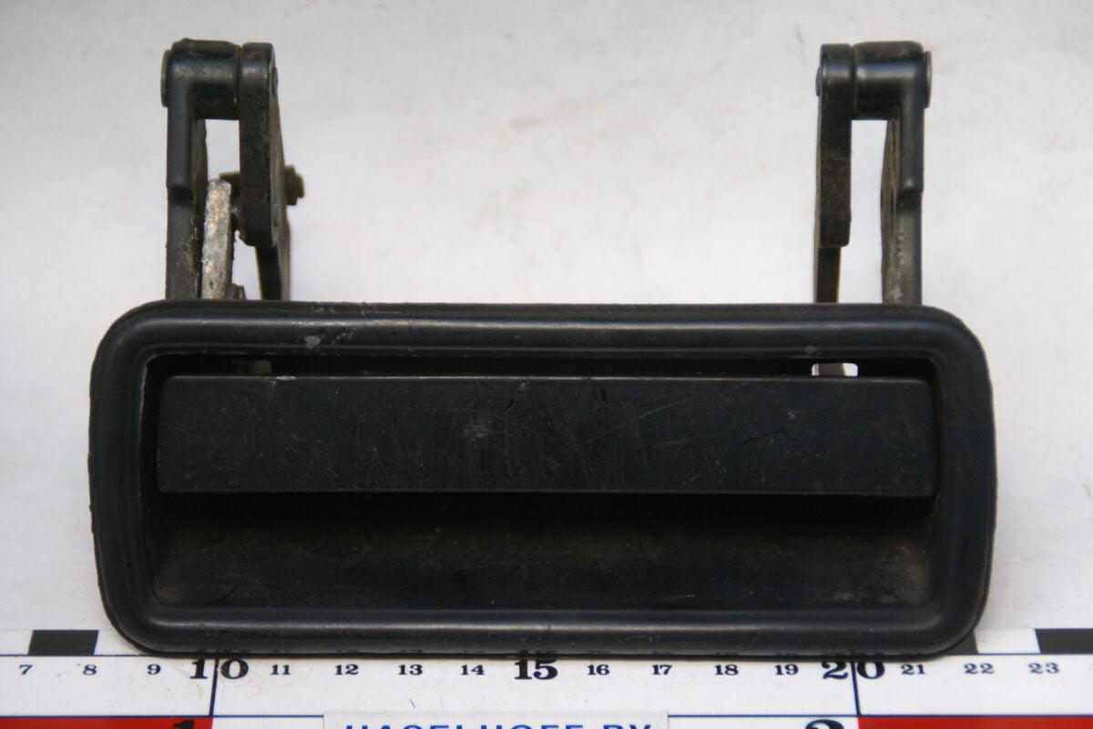 portierkruk buiten links zwart laat model 160307-3615-0