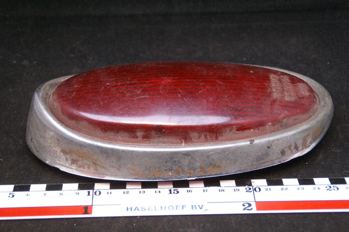 achterlichtglas met chroomrand 160601-4841-0