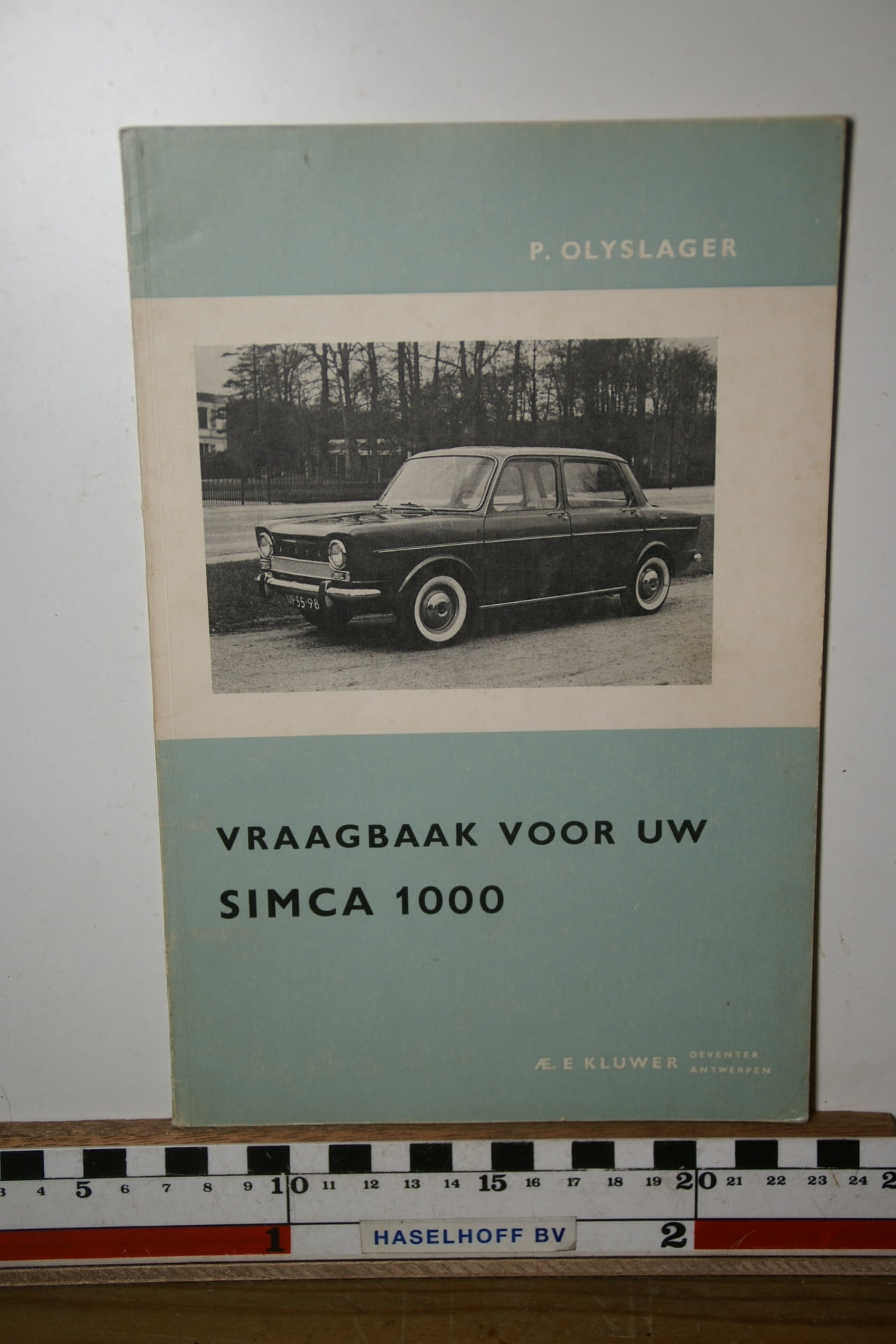 Olyslager vraagbaak Simca 1000 180205-3688-0