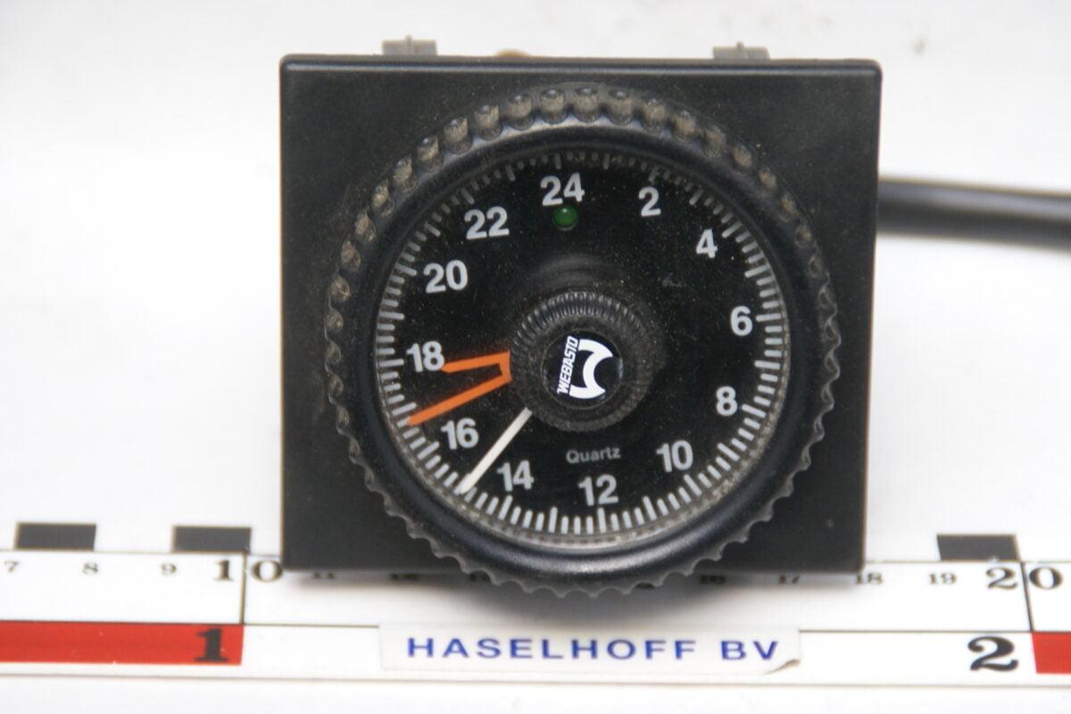 Webasto quartz kloktbv benzinekachel met paneel 160413-4007-0