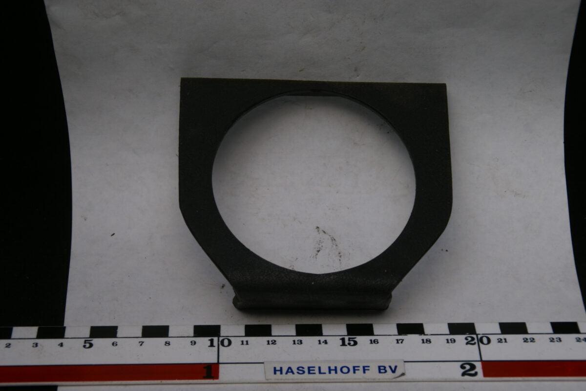 paneeltje zwart voor montage klokje of meter 52mm 160413-4015-0