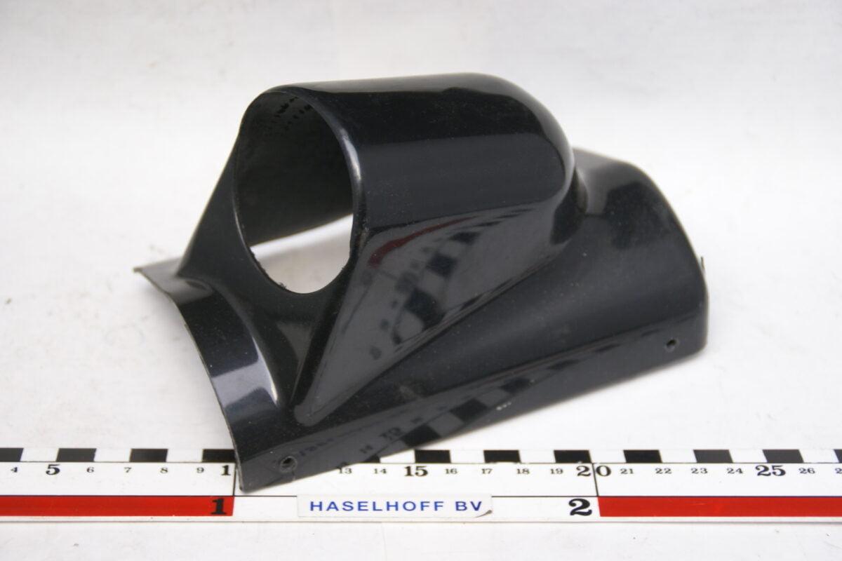 paneeltje zwart opbouw voor montage 1 klokje 52mm 160413-4024-0
