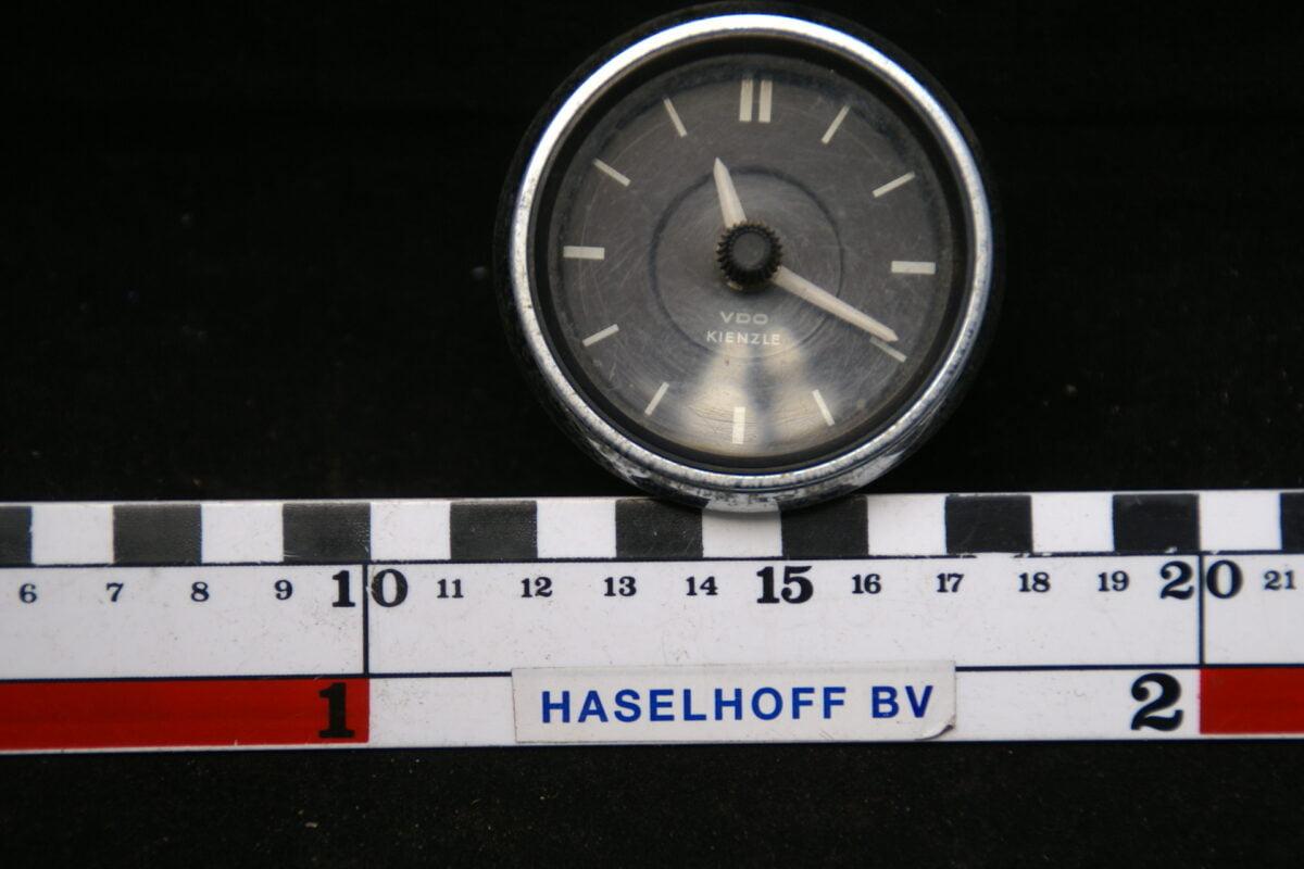 VDO Kienzle klokje met glas en chroomrand 160413-4038-0
