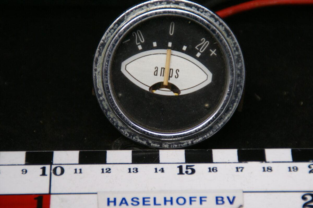 amperemeter met glas en chroomand 160413-4062-0