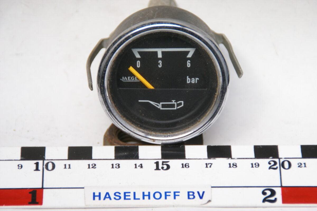 oliedrukmeter met glas en chroomrand 160413-4069-0