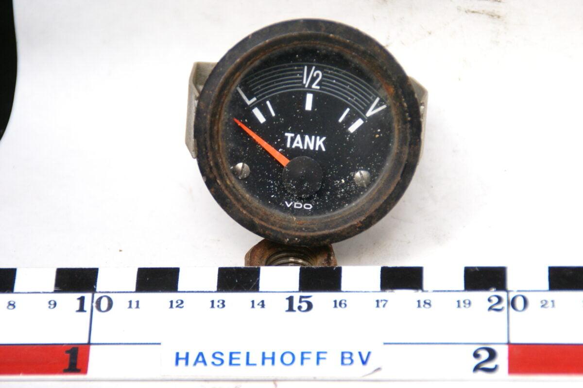 VDO tankmeter met glas enzwarte rand 160413-4076-0