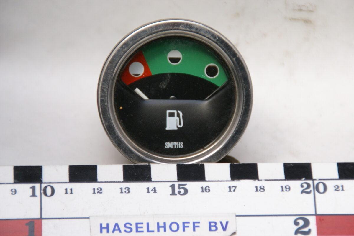SMITHS brandstofmeter met glas en chroomrand 160413-4077-0