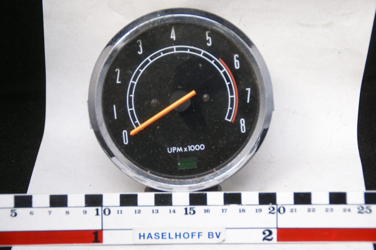 toerenteller met glas en chroomrand 160413-4082-0