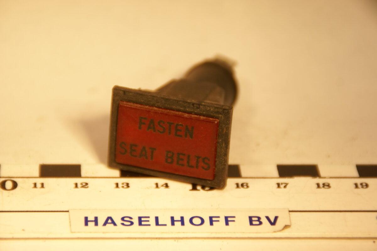 lamp fasten seatbelts 160106-2074-0