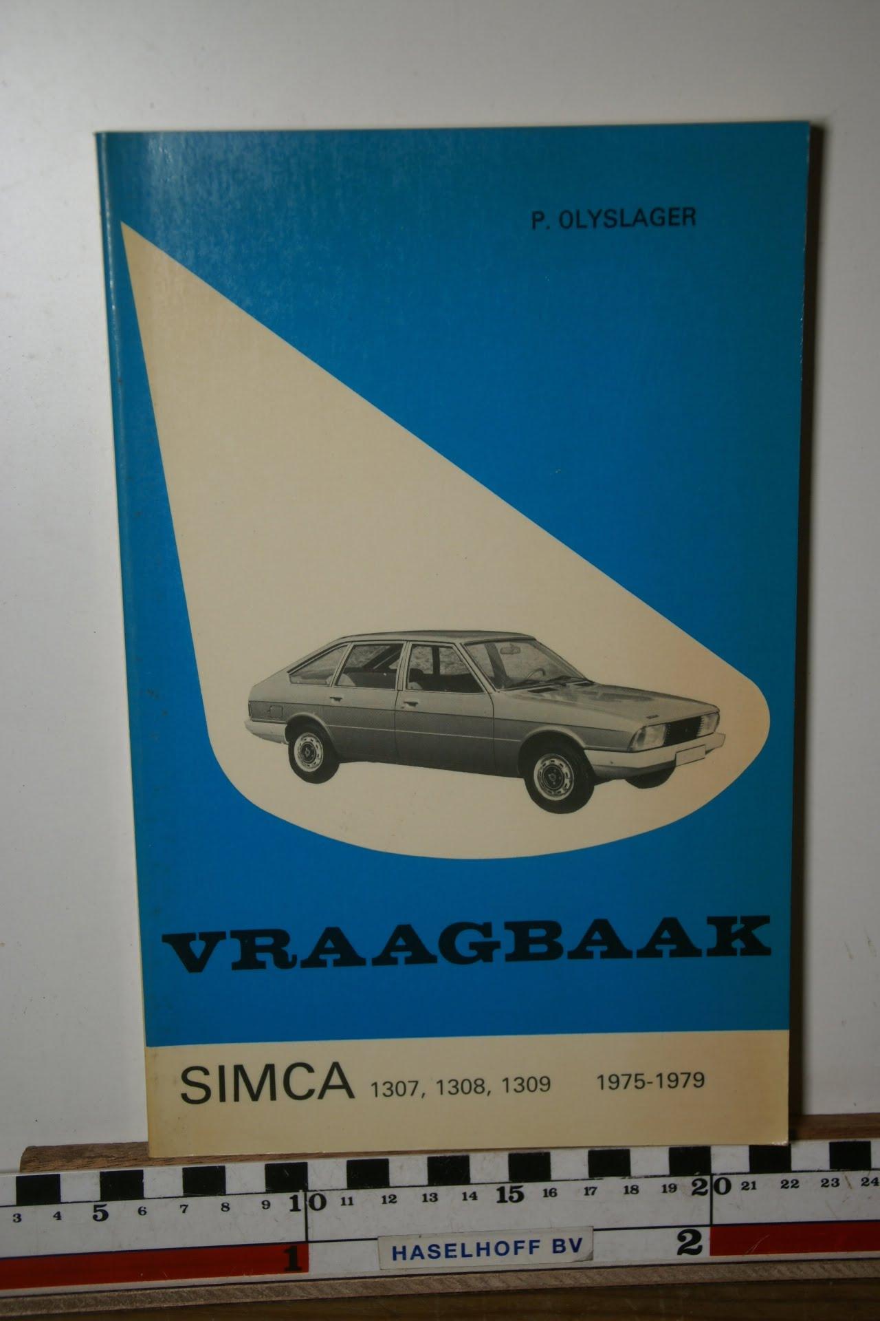 Olyslager vraagbaak Simca 180205-3693-0