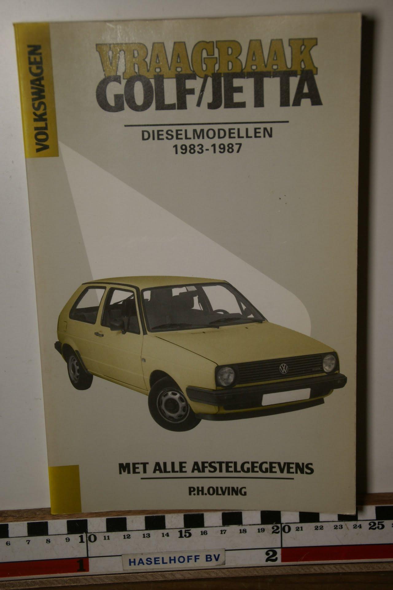 Olving vraagbaak Volkswagen Golf Jetta diesel-0