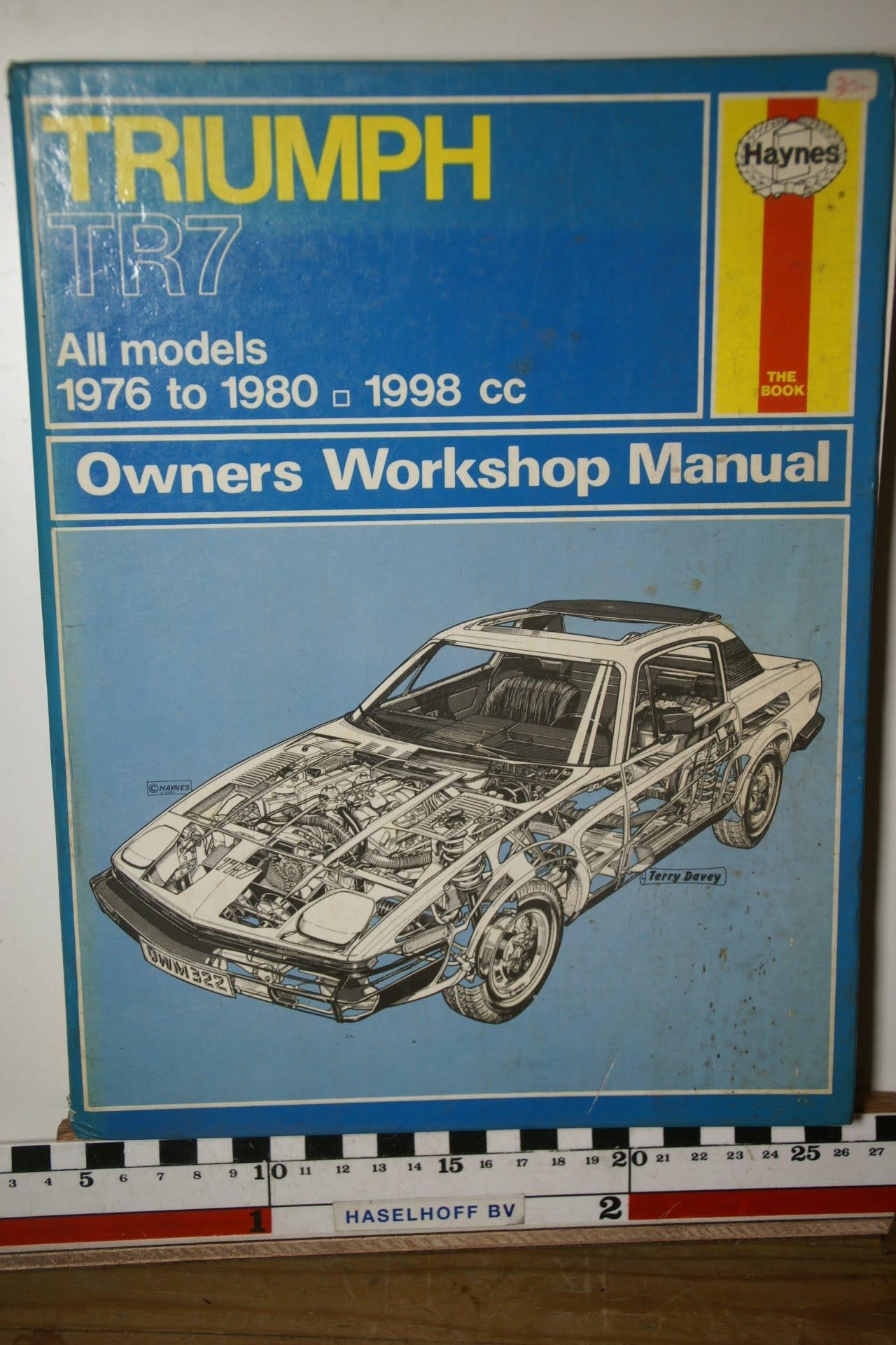 Haynes Triumph Owners Workshop Manual 180205-3704-0
