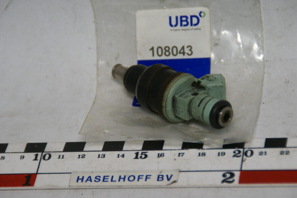 injector benzinesysteem 108043-0
