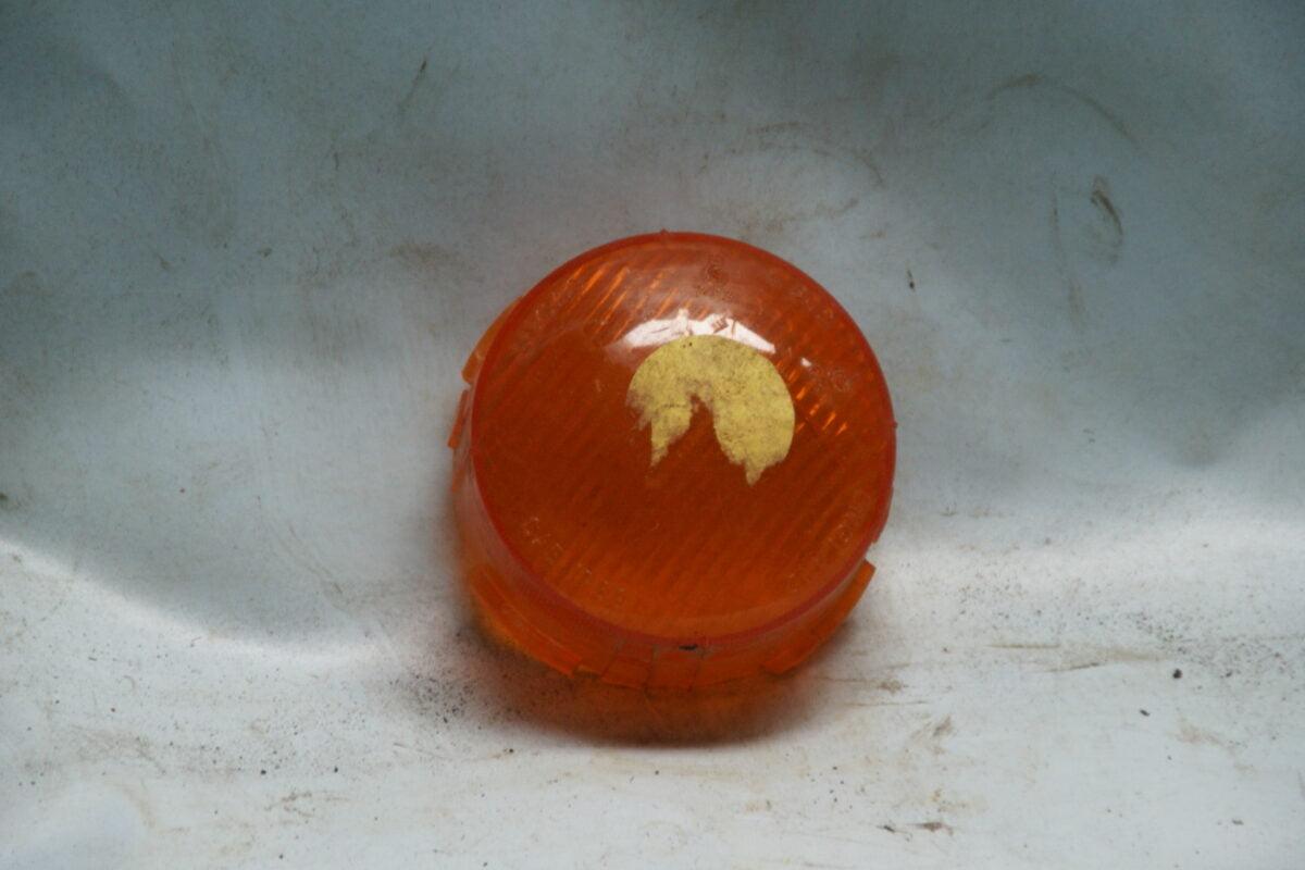 richtingwijzerglas oranje tbv enkele fitting 180627-5865-0