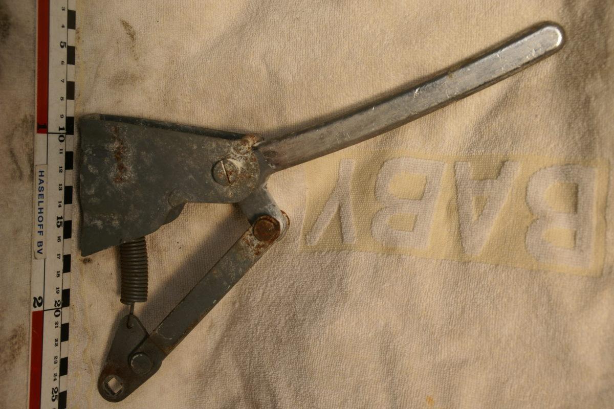 mechanisme met motorkaphendel chroom 180704-5930-0