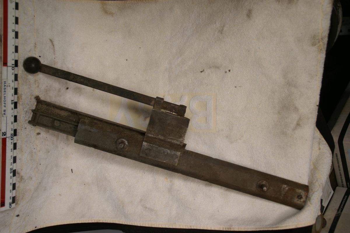 stoelrail met greep en knop 180709-6002-0
