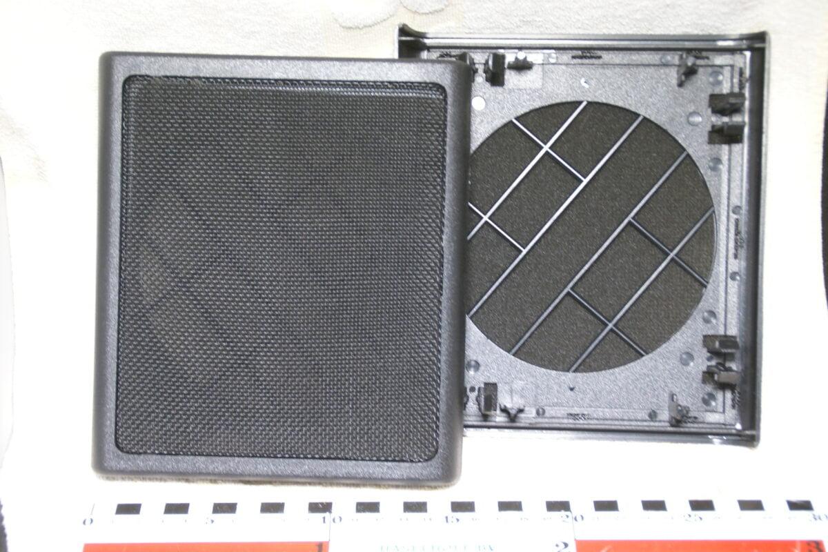 set speaker roosters achterportier 128125-0