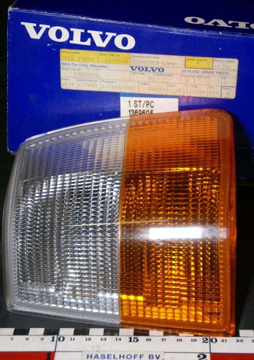 DSC00002 richtingwijzerglas links  Volvo 240 NOS