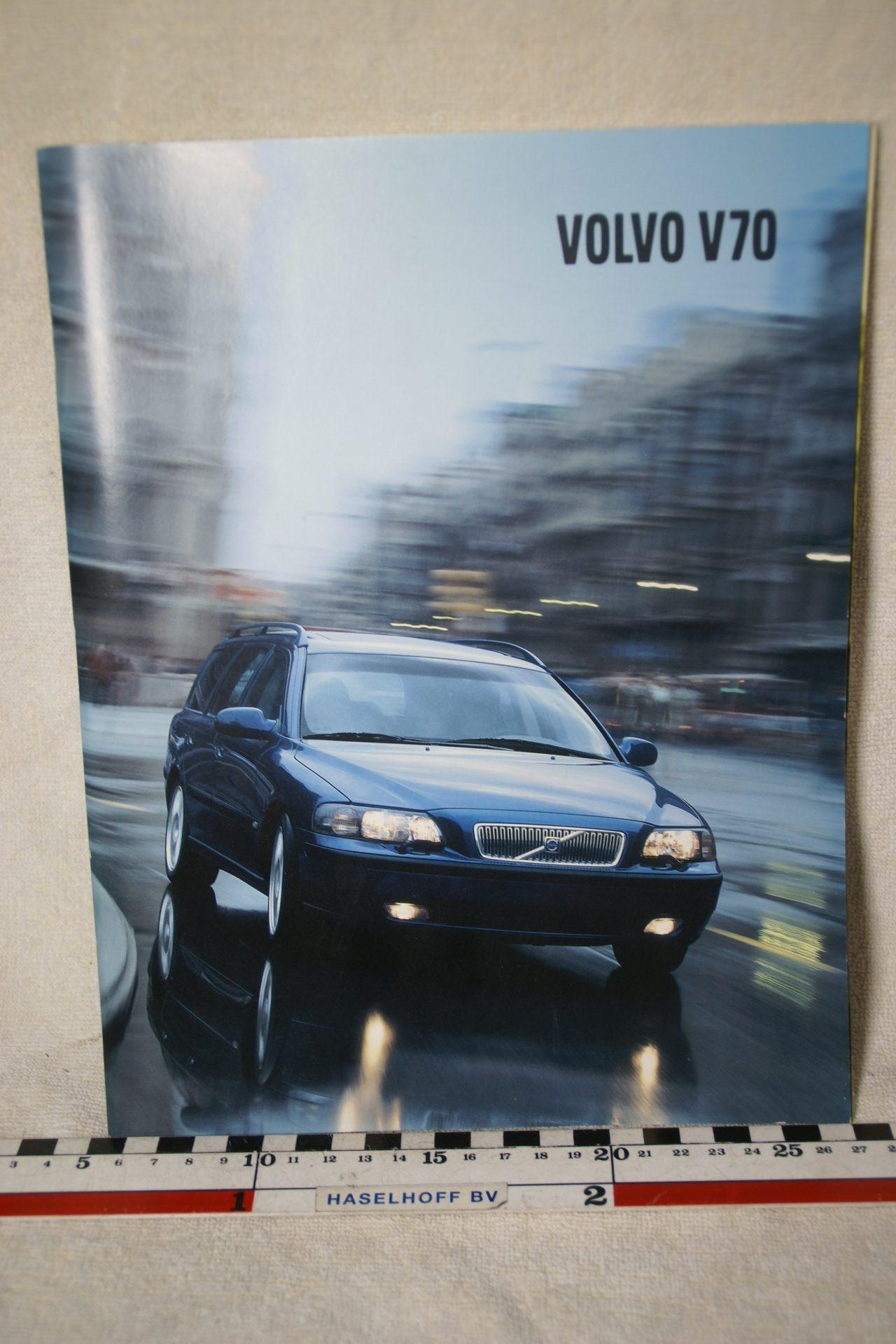Folder Volvo V70 (2002)