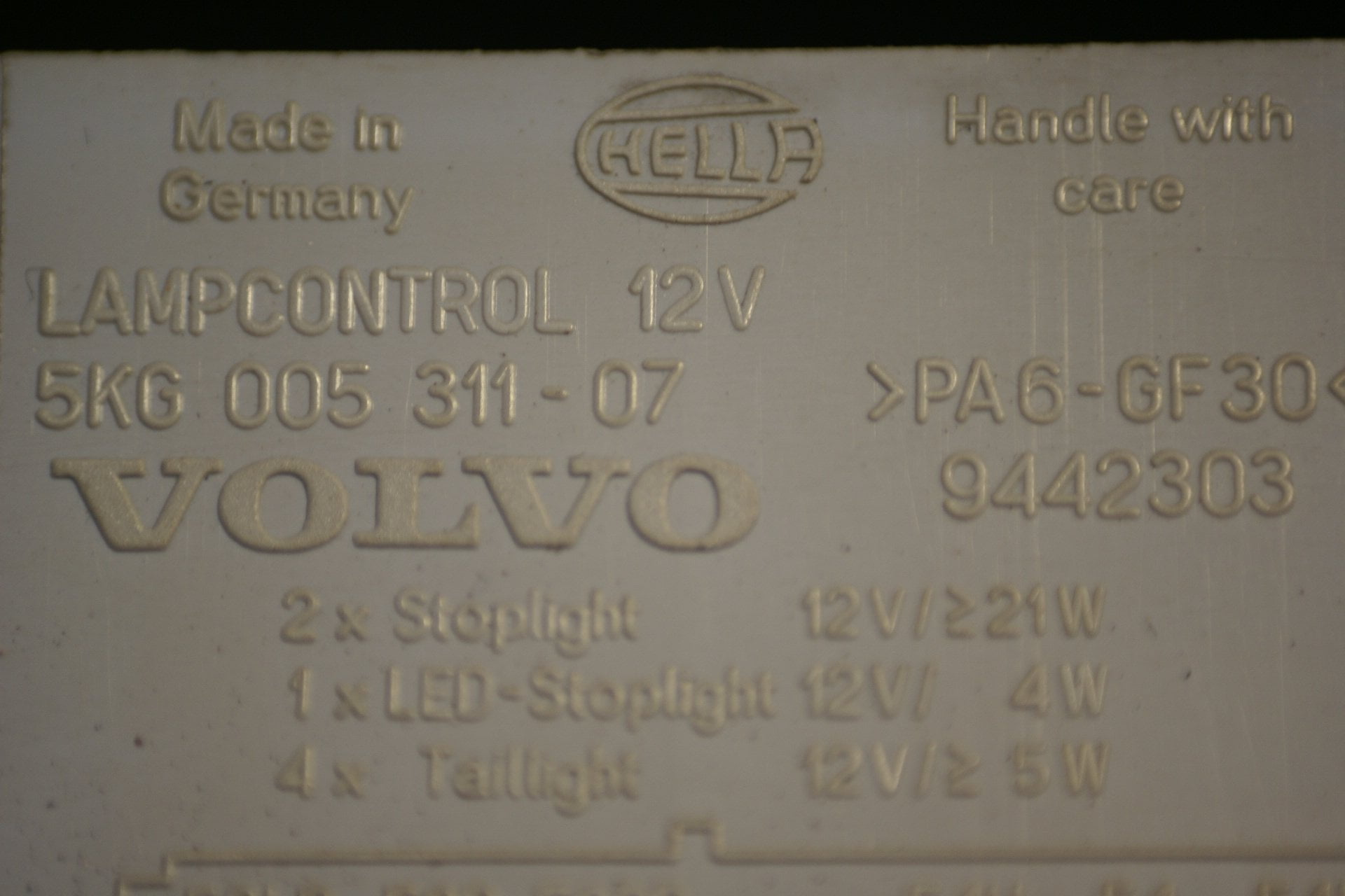 DSC00954 Volvo relais lampcontrol 9442303
