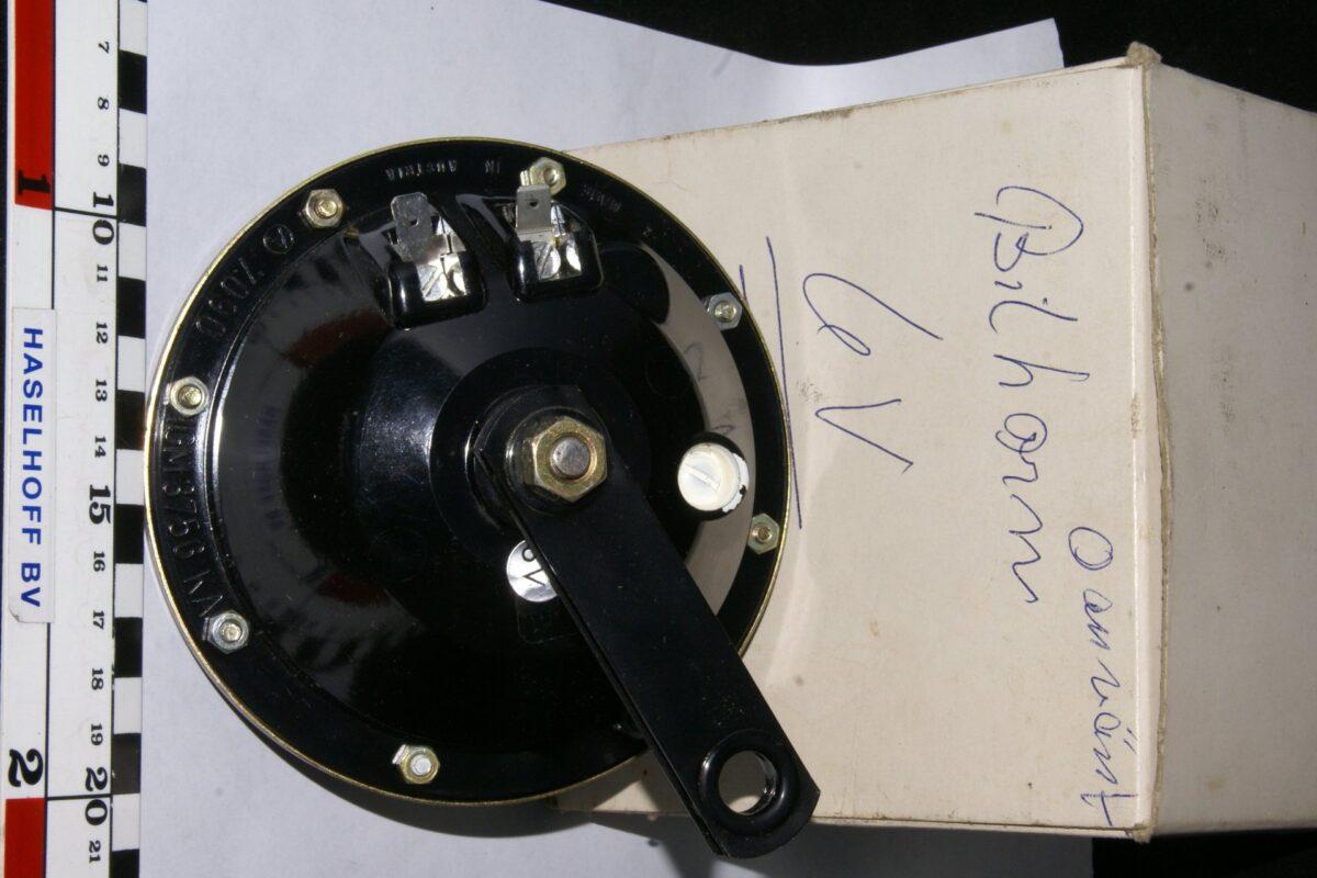 DSC01034 toeter 6 V NOS