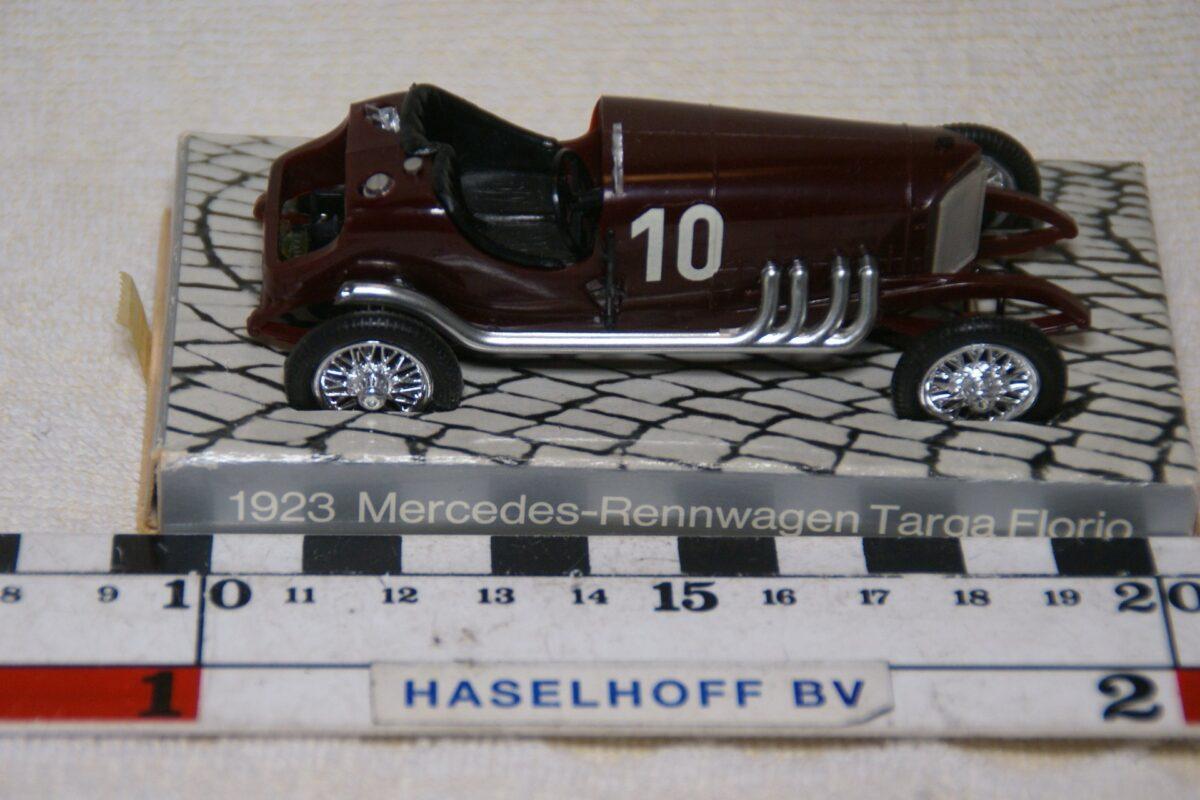 DSC08529 1923 Mercedes Targa Florio rood nr 10 1op43 Mercedes mint
