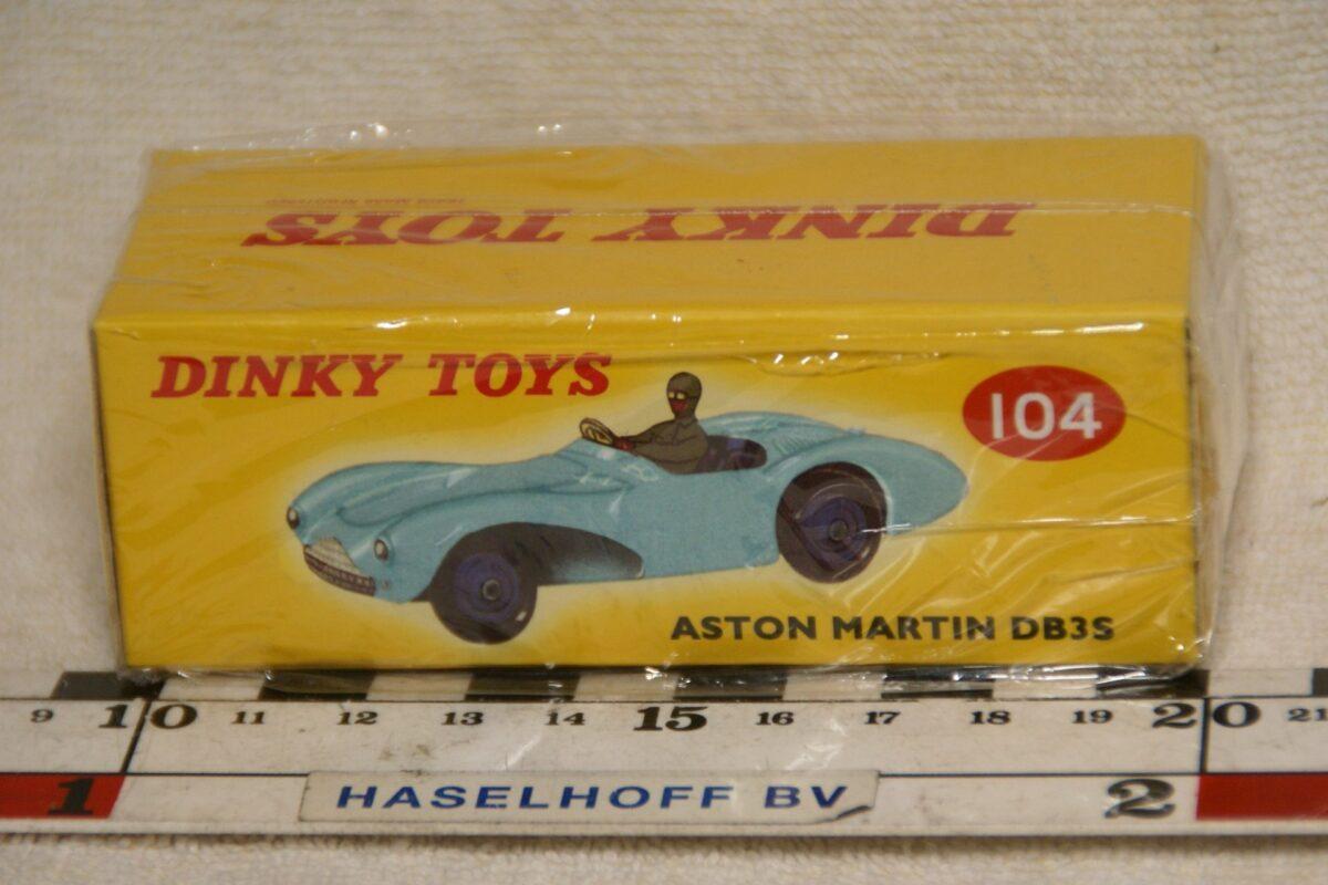 DSC08652 Aston Martin DB3 groen 1op43 Atlas Dinky Toys 4659130 MB