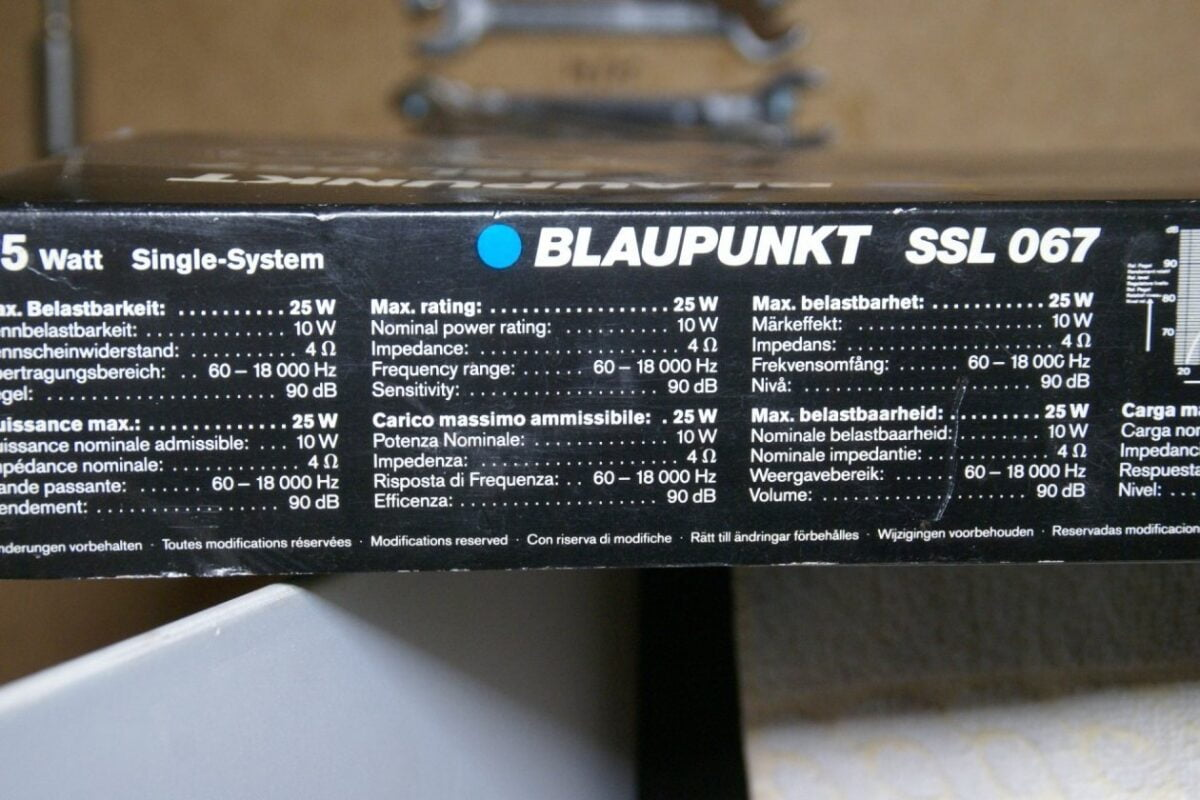 DSC00496 Blaupunkt SSL 067 speakerset (2)