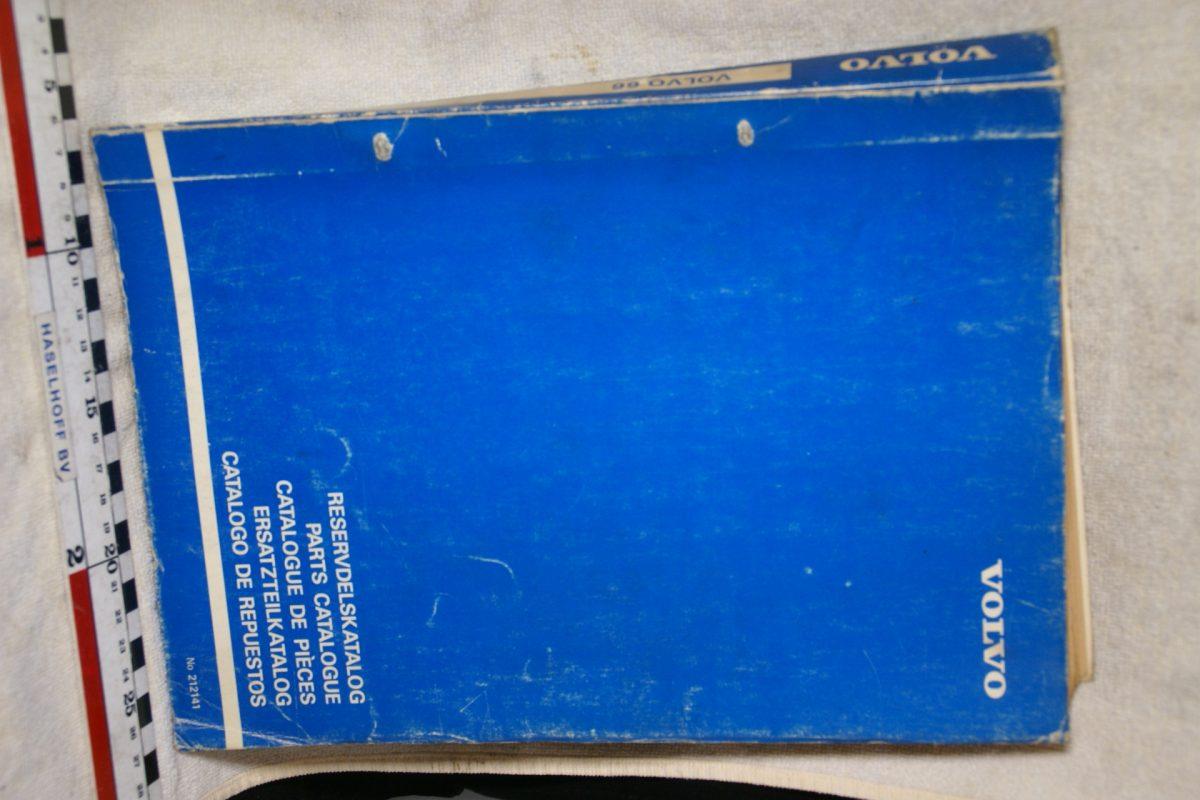 DSC00689 Volvo 66 onderdelenboek origineel