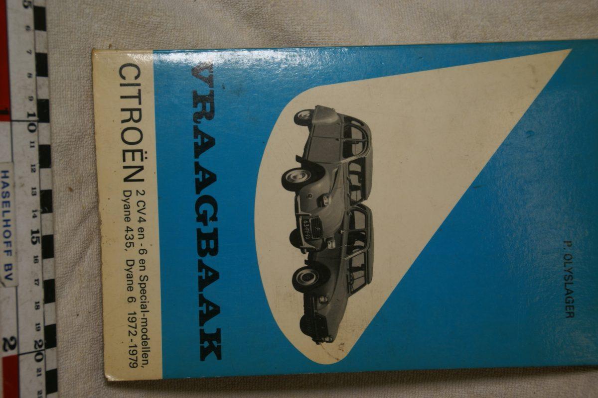 DSC00703 Citroen 2CV Eend Dyane Vraagbaak Olyslager