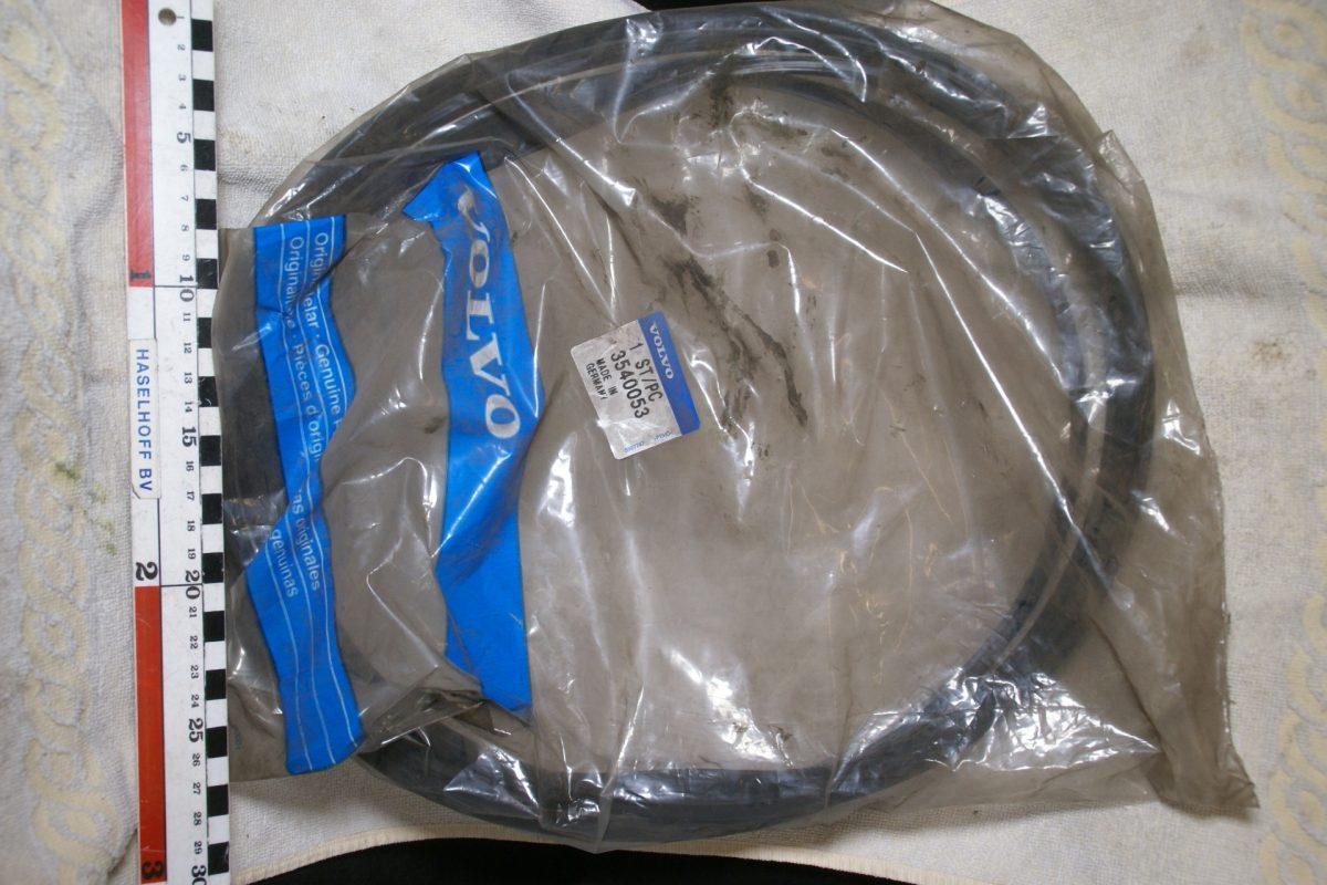 DSC00894 Volvo 200 voorruit strip 3540053 NOS 45