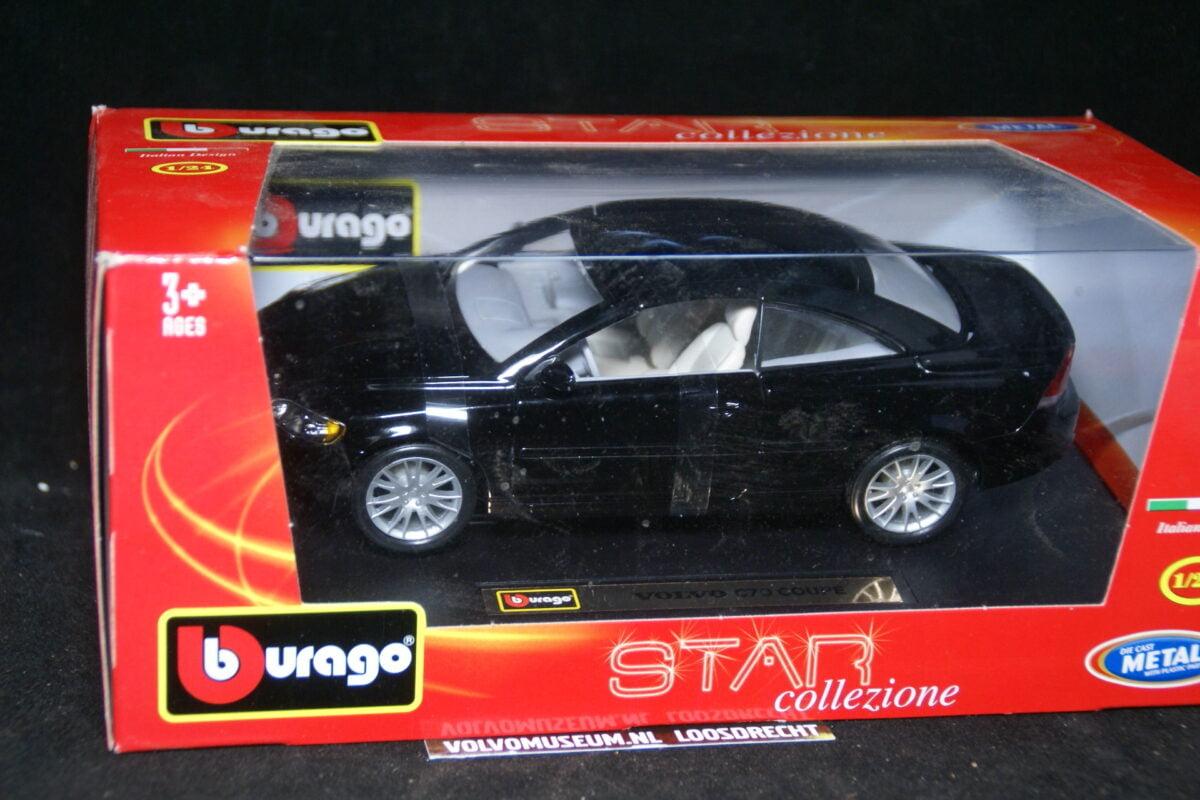 DSC02926 miniatuur Volvo CC70 zwart 1op24 Bburago 210244 MB