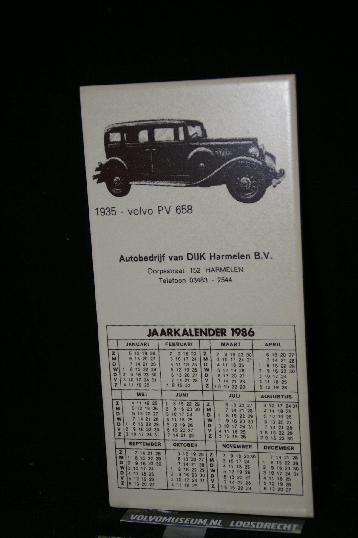 DSC03028 1935 Volvo PV 658 tegel uit 1986