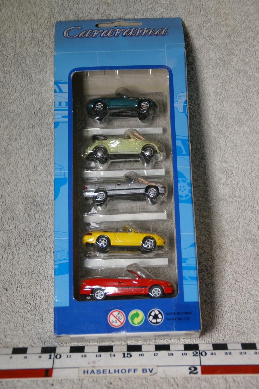 DSC07361a miniatuur Volvo C70 cabrio softtop rood en 4 andere modellen 1op72 Carrarama 520127 MB