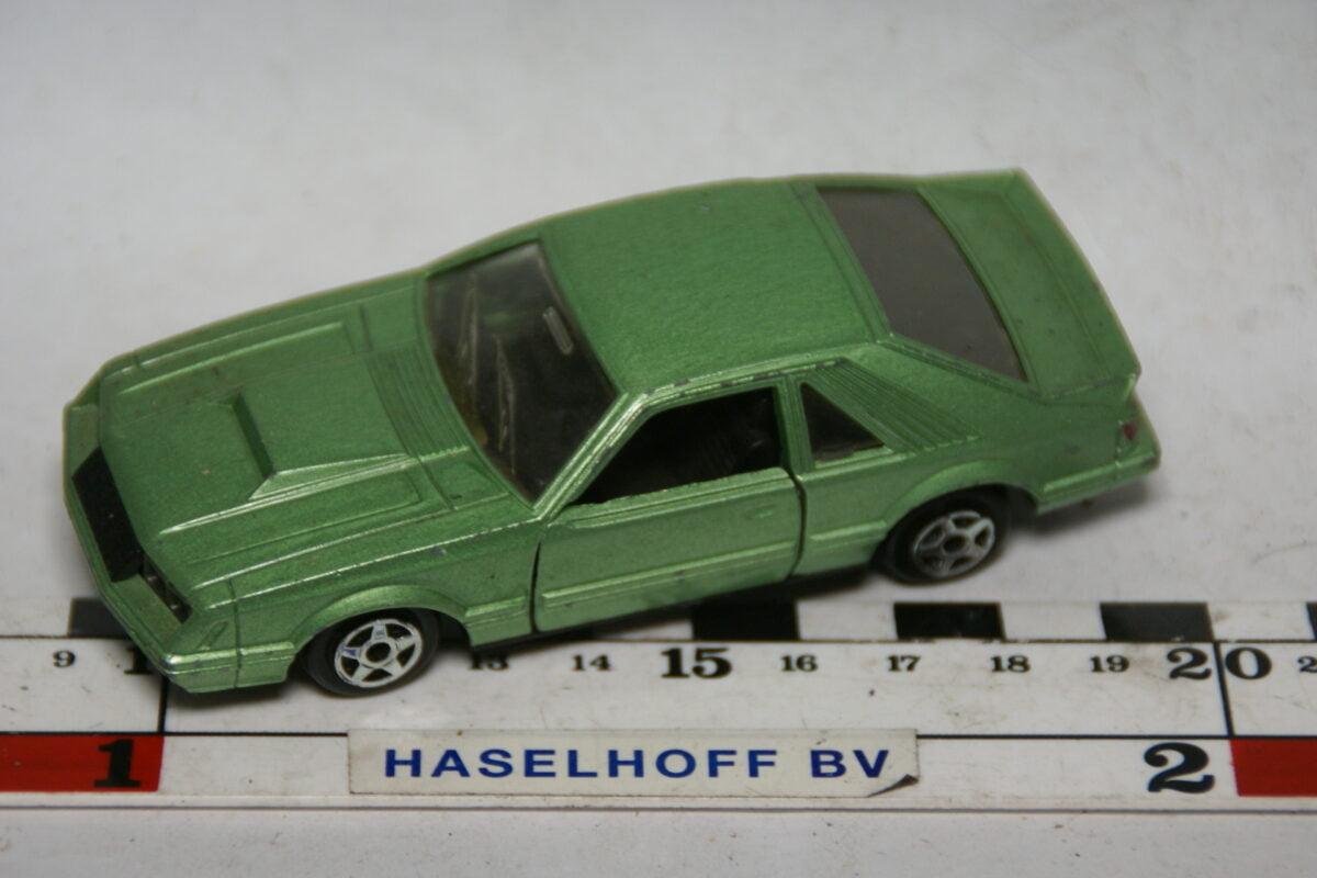 DSC07727 miniatuur Ford Mustang groen ca 1op43 Norev
