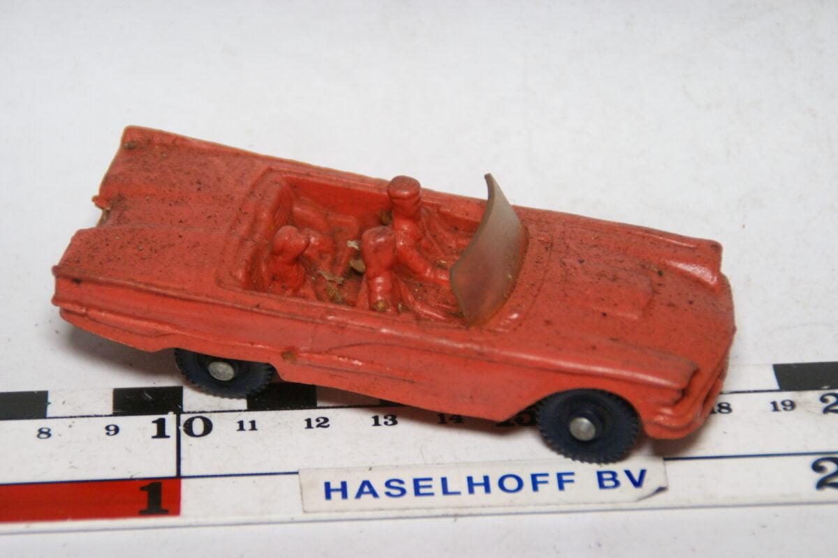 DSC07739miniatuur 1961 Ford Thunderbird rose ca 1op43 Tomte Laerdal