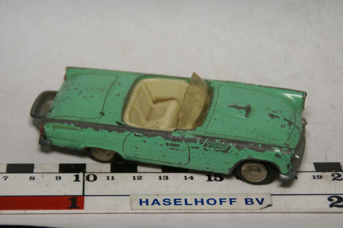 DSC07746 miniatuur Ford Thunderbird groen 1op43 Tekno