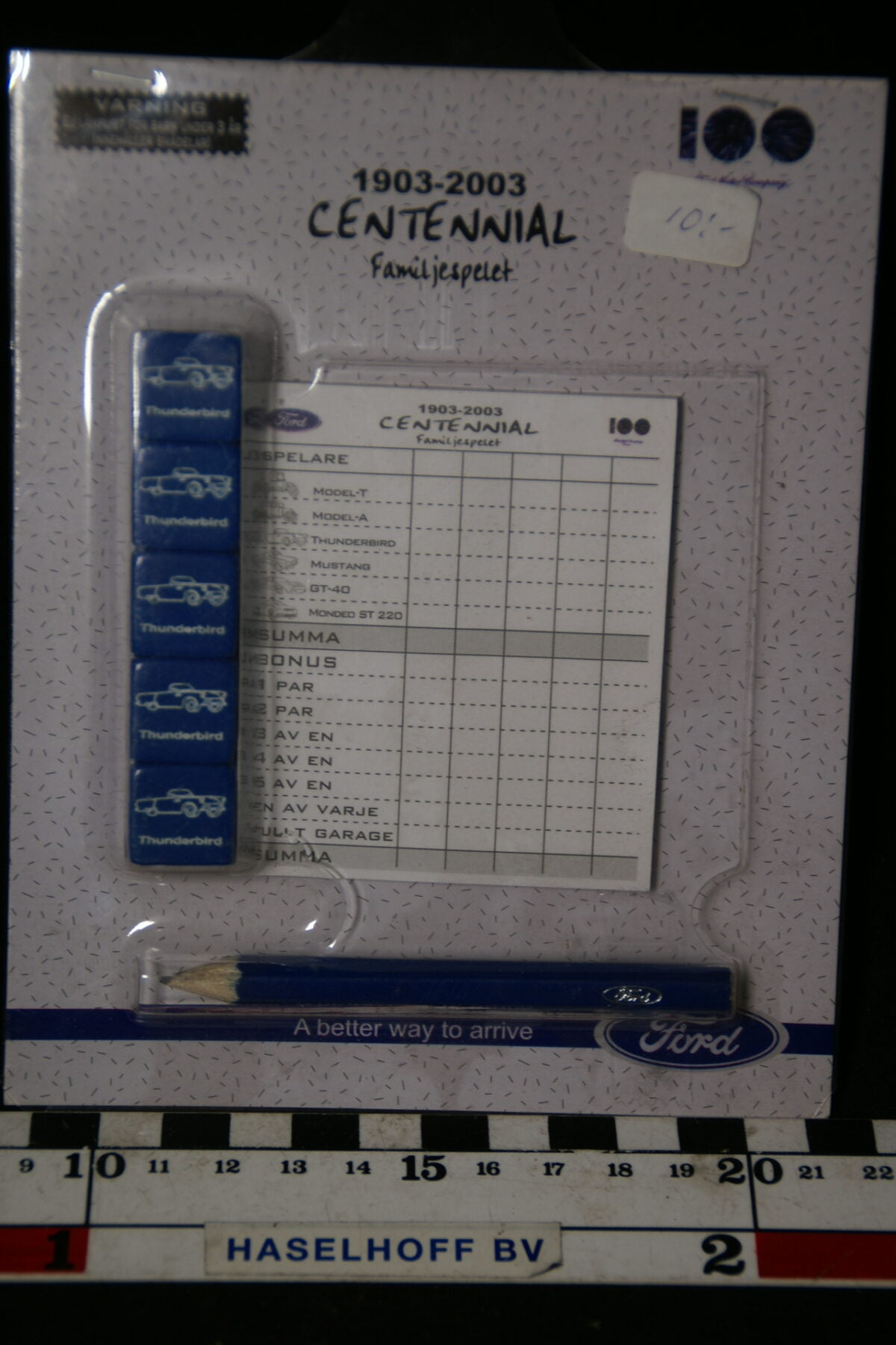 DSC07792 spel Ford centennial 1903 - 2003 MB