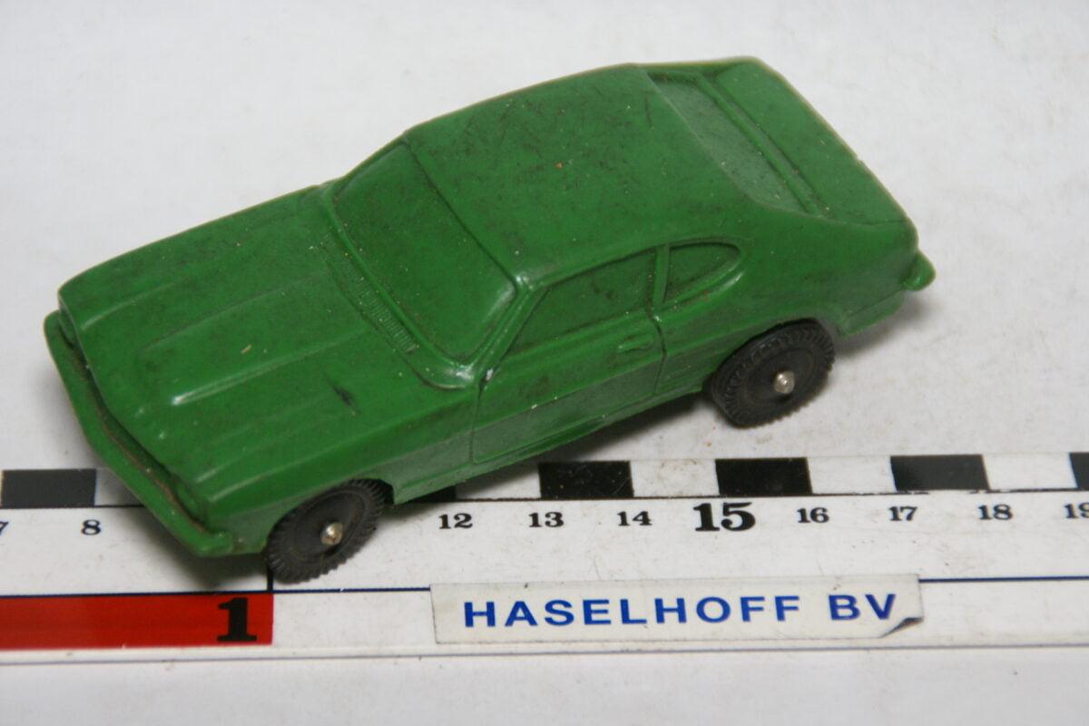DSC07829 miniatuur Ford Capri groen 1op43 mogelijk Tomte Galanite
