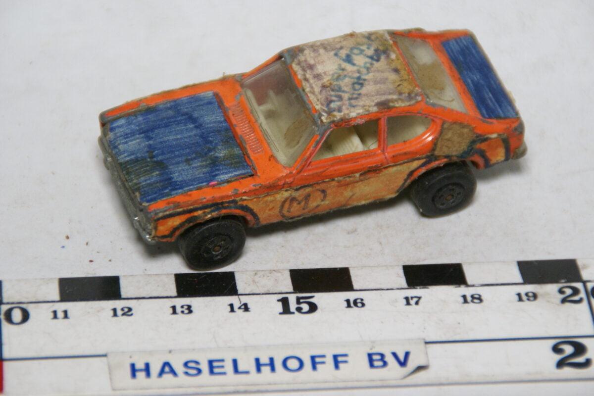 DSC07858 miniatuur 1970 Ford Capri oranje ca 1op70 Matcbox nr 54