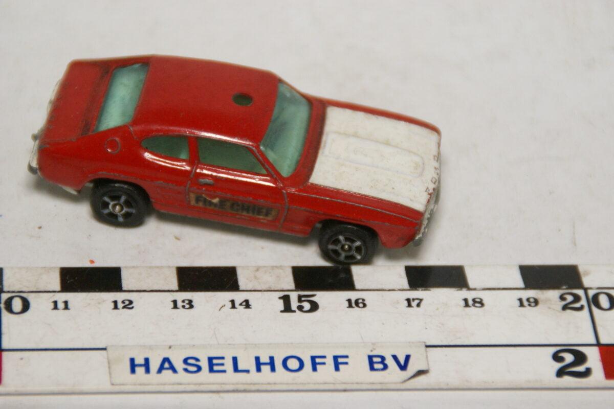 DSC07874 miniatuur Ford Capri rood ca 1op70 Corgi Juniors