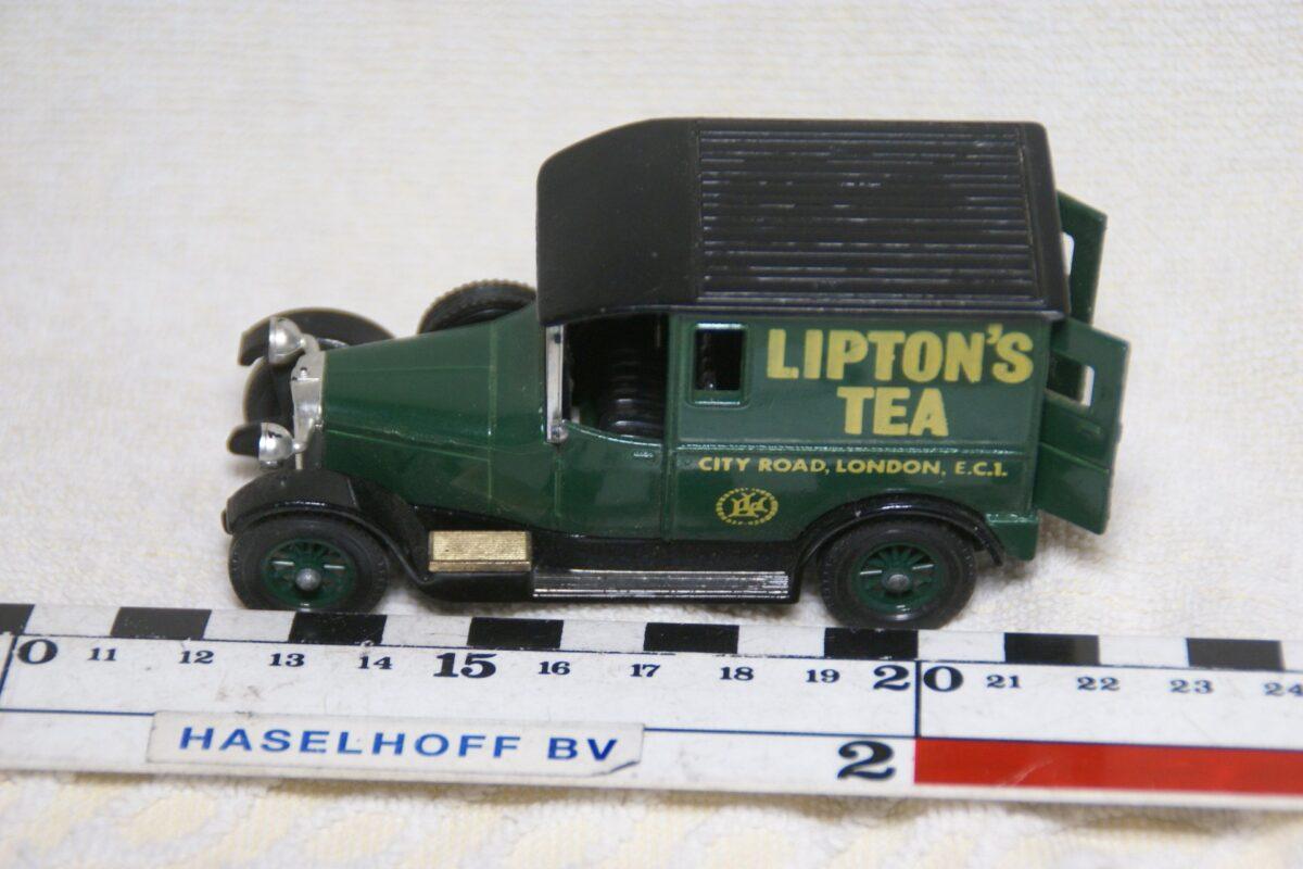 DSC08614 miniatuur 1927 Talbot van groen ca 1op43 Matchbox Y5 mint