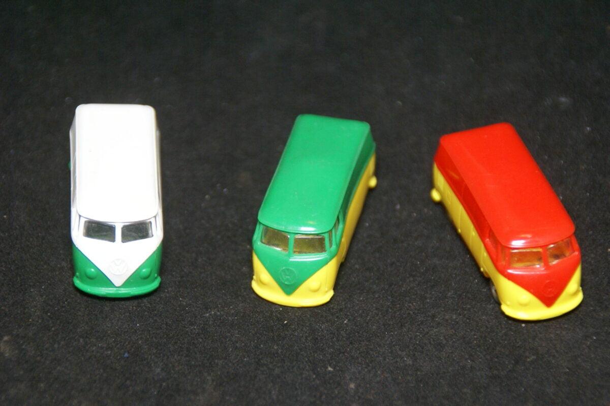 DSC08911 minatuur Lego Volkswagenbus 1op87 goede staat, prijs per stuk