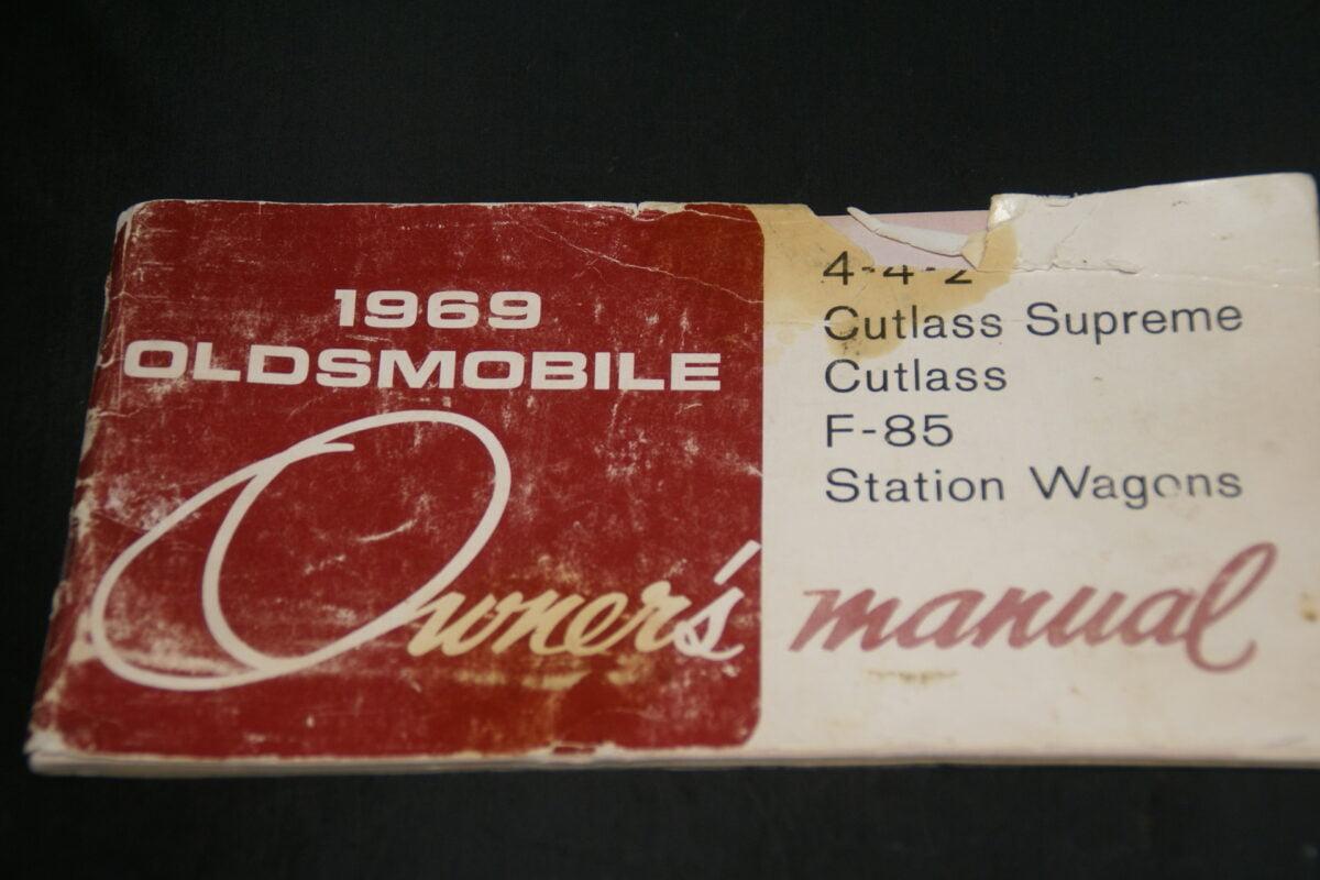 DSC01517 1969 Oldsmobile instructieboekje 403465
