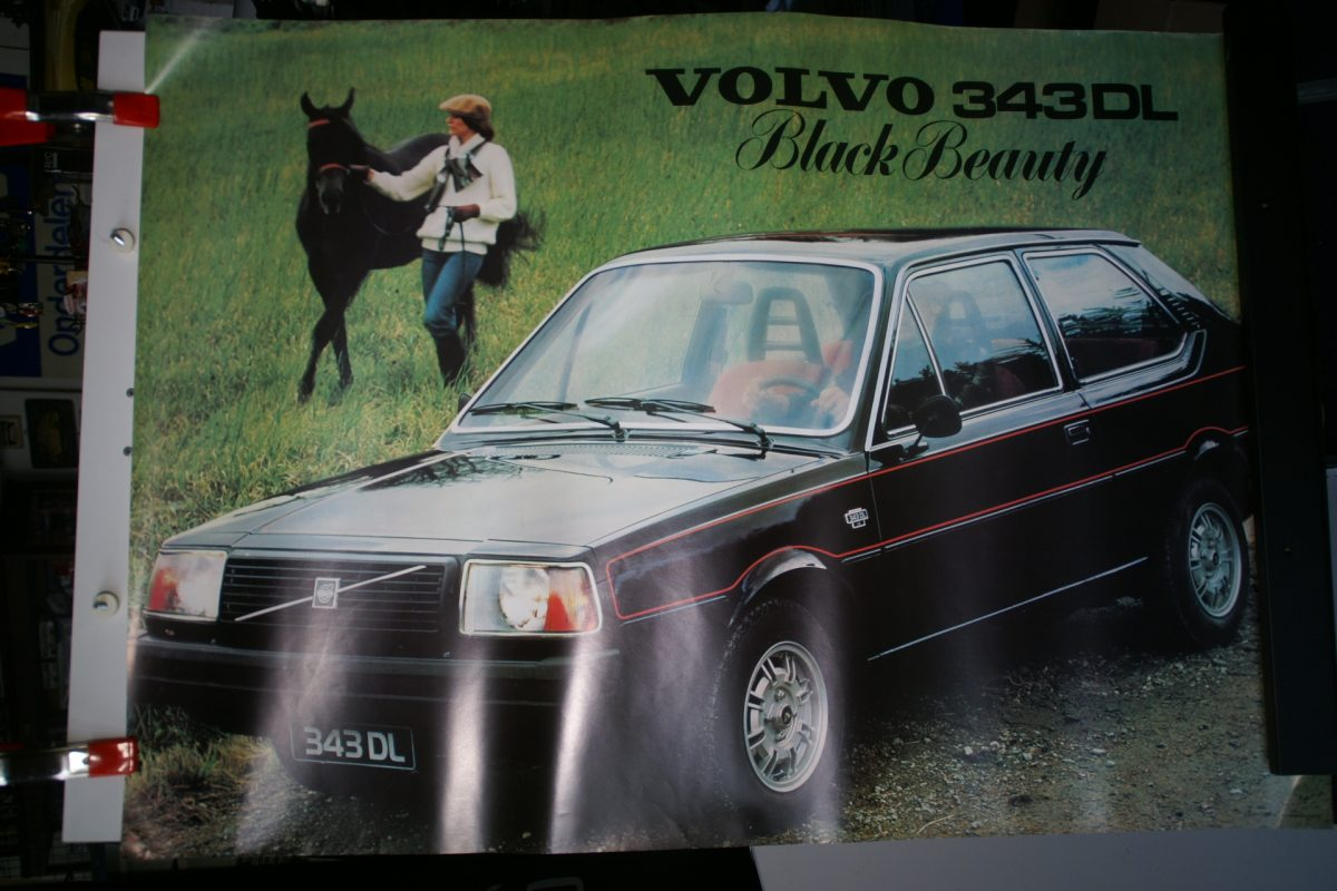 DSC02116 1978 Volvo 343DL Black Beauty poster RSPPV5569