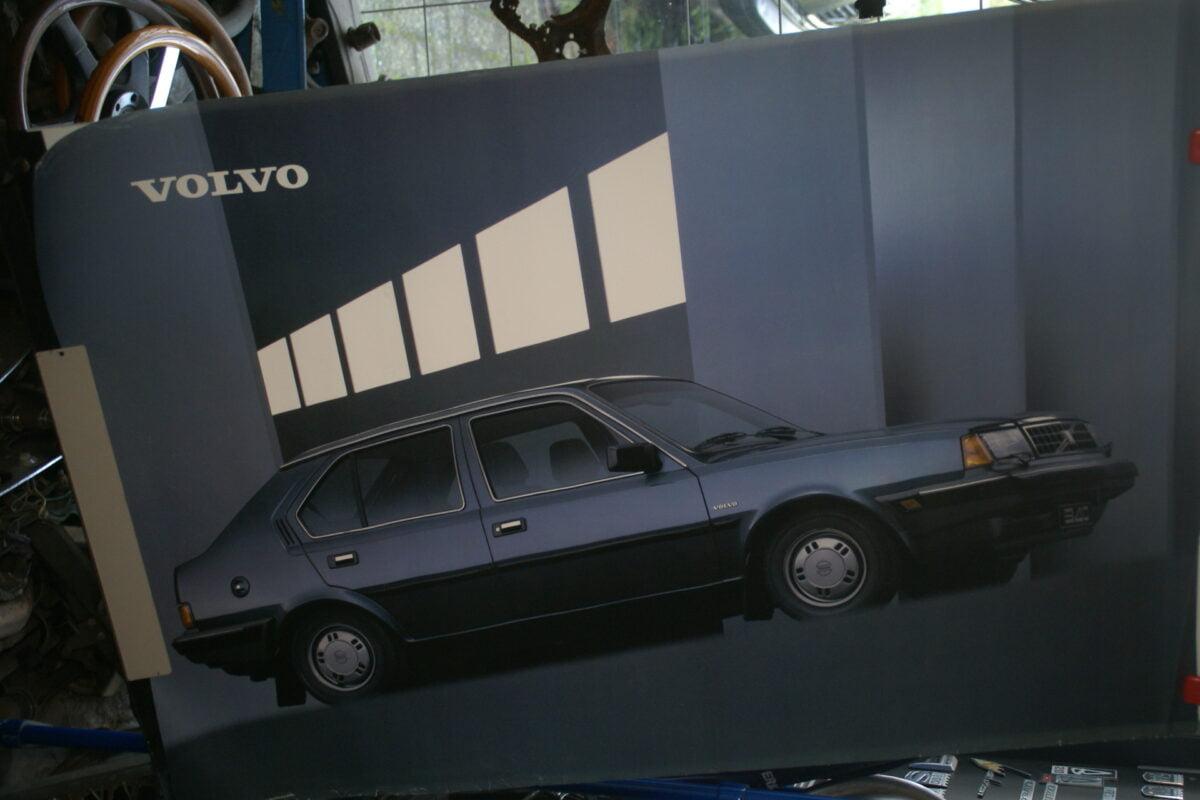 DSC02138 1986 Volvo 340 grijs poster ASPCARBV2338