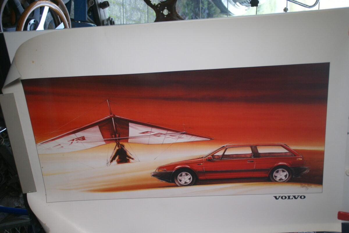DSC02142 1988 Volvo 480 rood poster 4173