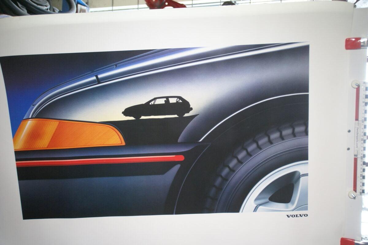 DSC02156 1988 Volvo 480 zwart poster MSPV4391