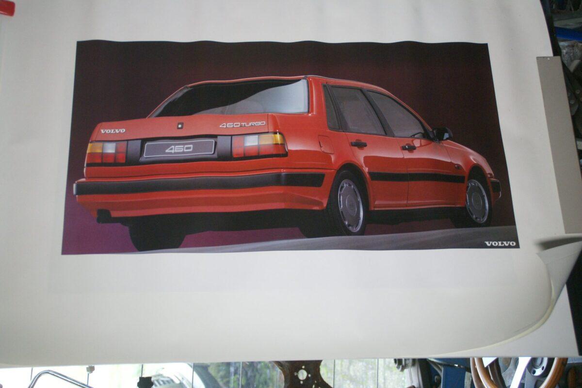 DSC02164 1990 Volvo 460 turbo rood poster ASPCARBV6142
